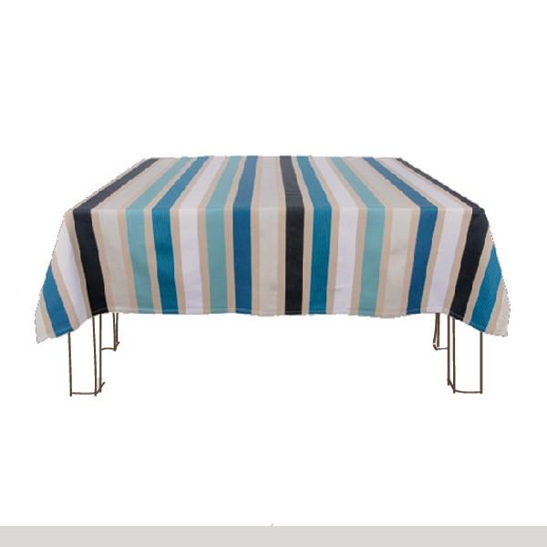 Nappe artiga garlin bleu rectangulaire galerie de garazi - Nappes et serviettes de table ...