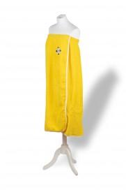 Paréo croix rayée Jaune citron