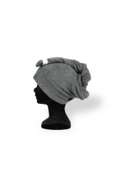 Serviette cheveux Luka gris anthracite