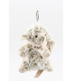 Peluche mouton doux écharpe porte clés