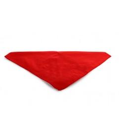 Foulard uni rouge